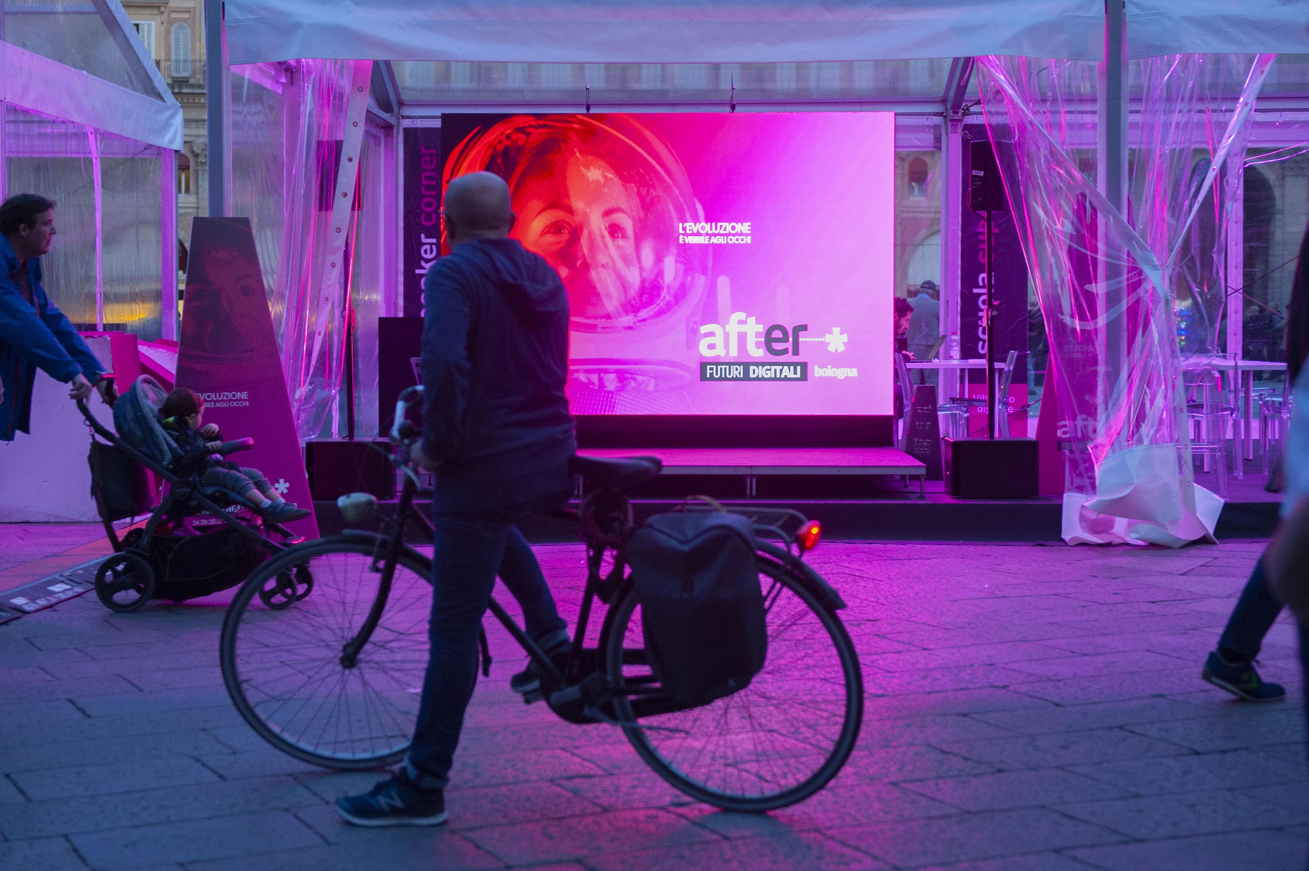 Circa 10.000 presenze alla terza edizionedi AFTER futuri digitali a Bologna