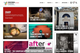 Online il nuovo portale del Turismo del Comune di Ravenna