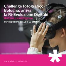 Partecipa anche tu alla challenge fotografica #riEvoluzioneDigitale