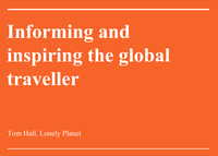 Informing and Inspiring The Global Traveller